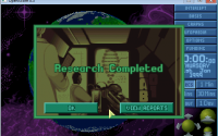 [19/09/2011] Research Complete window