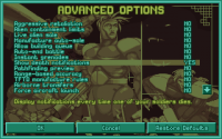 [07/05/2013] Advanced Options